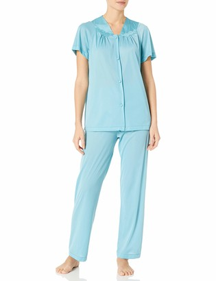 Exquisite Form Women's Short Sleeve Pajama Set