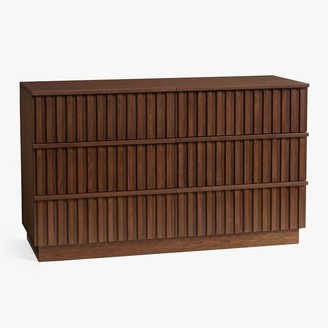 Pottery Barn Teen Batten 6-Drawer Wide Dresser