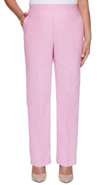 Alfred Dunner Garden Party Straight-Leg Pants