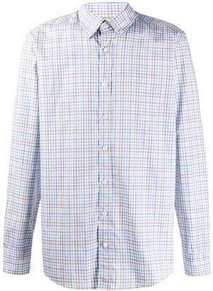 Hackett classic check print shirt