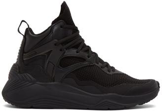 McQ Black Sodai High-Top Sneakers