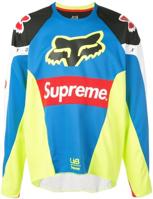 Supreme fox racing Moto jersey top SS18