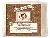 Bar Goose Bargoose 100% Natural Cotton Bassinet Sheet - Set of 2
