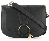 See by Chloe Women's Black Leather Shoulder Bag.
