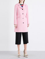Valentino Crombie wool-blend coat