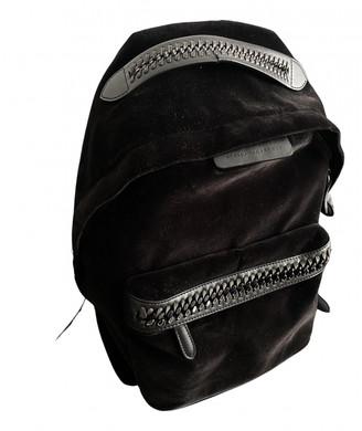 Stella McCartney Black Velvet Backpacks