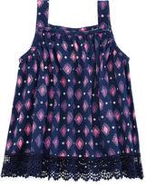 Arizona Crochet-Bottom Tank Top - Baby Girls 3m-24m