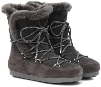 Moon Boot Far Side shearling snow boots