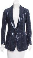 Salvatore Ferragamo Lightweight Embellished Silk Jacket