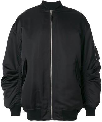 Faith Connexion Zipped Bomber Jacket