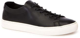 Lacoste Women's L.12.12 Unlined Monochrome Leather Trainers