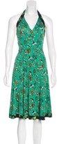 Issa Floral Print Midi Dress