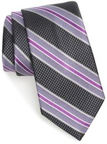 Nordstrom 'Connected Stripe' Silk Tie