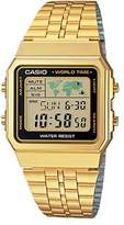 Casio World Time Gold