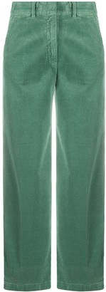 Aspesi Corduroy Wide-Leg Trousers
