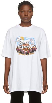 Vetements White Magic Unicorns T-Shirt