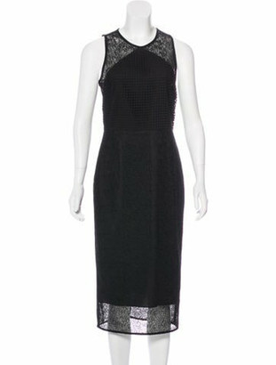 Diane von Furstenberg 2017 Lace Dress w/ Tags Black