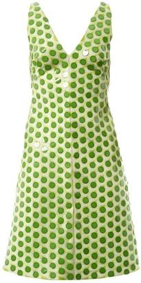 Jonathan Saunders Green Polyester Dresses