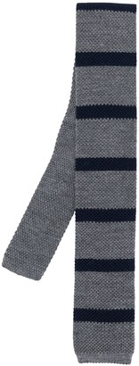 Brunello Cucinelli Striped-Print Knitted Tie