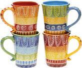 Certified International Tapas Set of 4 Mugs
