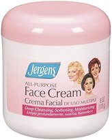 Jergens All Purpose Face Cream, 6 Ounce (Pack of 12)