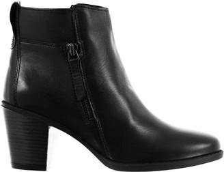 Linea Zip Heel Boots
