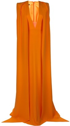 Alex Perry Plunge Style Maxi Dress