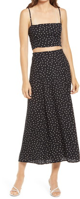 Reformation Hayden Two-Piece Dress