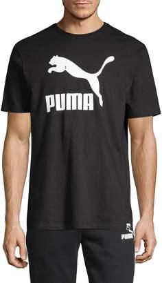 Puma Logo Cotton Tee