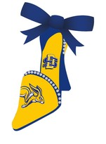 South Dakota State University Team Shoe Ornament
