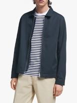 It's All Good Folk GOTS Organic Cotton Twill Combo Jacket, Navy