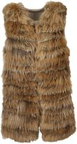 Alice + Olivia Fur Detail Vest