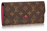 Louis Vuitton Monogram Canvas Hot Pink Emilie Wallet M41943