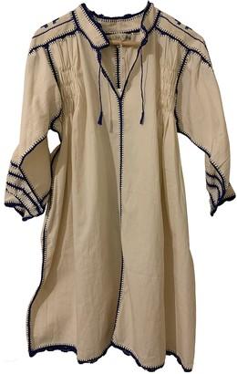 Carolina K. White Linen Dress for Women
