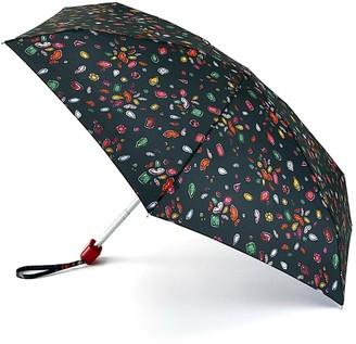 Lulu Guinness Jewel Lip Print Tiny Umbrella - Multi