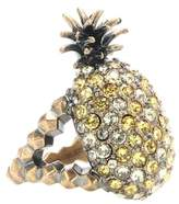 Gucci Crystal pineapple ring