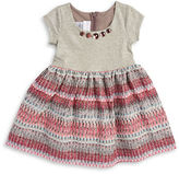 Iris & Ivy Girls 2-6x Mixed Texture Dress