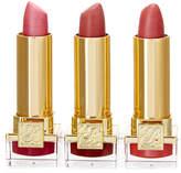 Estee Lauder 17 Rose Tea, 16 Candy, 18 Bois De Rose Pure Color Long Lasting Lip 3Pc Set