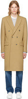 Éditions M.R Tan Double Breasted Wool Overcoat