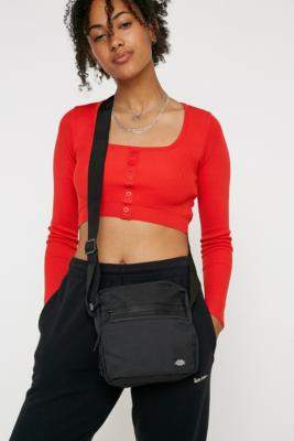 Dickies Gilmer Black Crossbody - black at Urban Outfitters