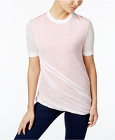 DKNY Cotton Ruched Sweater