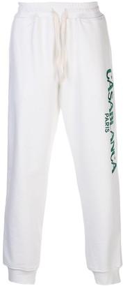 Casablanca Embroidered Logo Track Pants