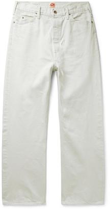 Chimala Paint-Splattered Selvedge Denim Jeans
