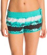 Hurley Women's Phantom Block Party Tie Dye 2.5 Beachrider Boardshort 8145643