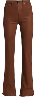 Paige Jolene High-Rise Manhattan Bootcut Pants
