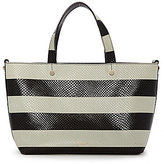Luana Italy Carlyle Snake-Embossed Leather Mini Reversible Tote