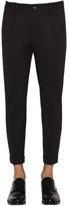 DSQUARED2 Stretch Worsted Wool Pants