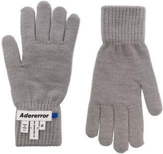 Ader Error Logo Patch Gloves