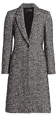 Rag & Bone Women's Dani Herringbone One-Button Coat