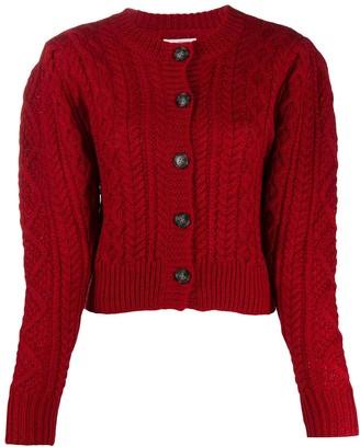 Etoile Isabel Marant Cable Knit Cardigan